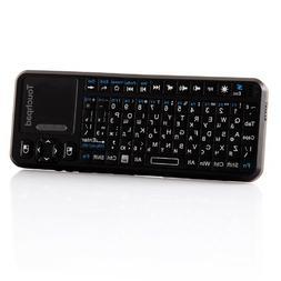Kingzer 4-IN-1 Russian Version 2.4G Wireless Mini Keyboard T