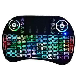 1 x Remote Backlit Mini 2.4G Wireless Keyboard Touchpad Fly