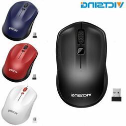 VicTsing 1600 DPI 2.4G Wireless Mouse Mice w/ Nano Receiver