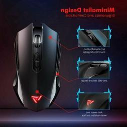 Victsing 2.4G 2400DPI Ergonomic Wireless Gaming Mouse Mice 7