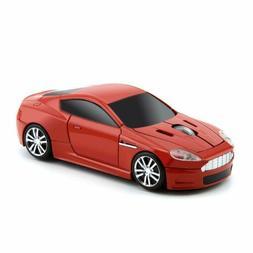 2.4G Aston Martin USB Car Wireless Mouse Game Mice LED Light