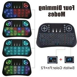 2.4G Mini i10  Air Mouse Wireless Keyboard  Touchpad for Win