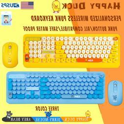 Mini Wireless Keyboard Mouse Set For Mac PC Computer design