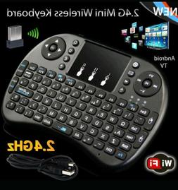 2.4G Mini Wireless Keyboard Fly Air Mouse Touchpad For Andro