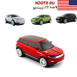 2.4G Range Rover SUV Car Wireless Mouse Optical USB Gaming M
