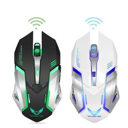 2.4G Rechargeable Wireless Silent Gaming Mouse with 7 Color