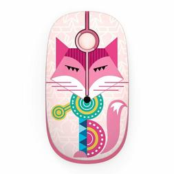 JELLY COMB 2.4G Slim Wireless Mouse with Nano Receiver FOX N