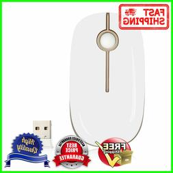 Jelly Comb 2.4G Slim Wireless Mouse with Nano Receiver Less