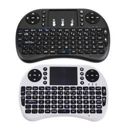 2.4G Wireless Air Keyboard Mouse Qwerty Remote Touchpad For