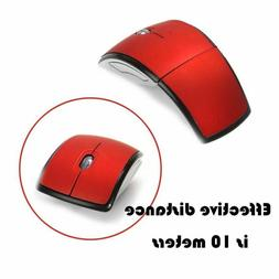 2.4G Wireless Foldable Mouse Mini-Travel Notebook Mute Mouse