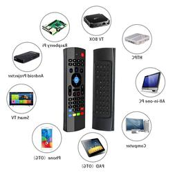 2.4G Wireless Keyboard Air Mouse IR Remote Learning for Andr