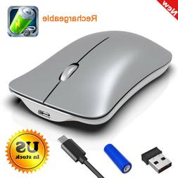 2.4GHz Mice Mouse Wireless Optical Rechargeable for Macbook
