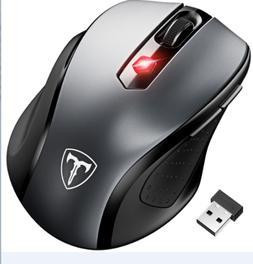 2.4GHz Mini Wireless Cordless Optical Mouse Mice USB Receive