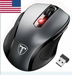 2 4ghz mini wireless cordless optical mouse