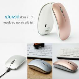 2.4GHz USB Wireless Cordless Optical Mouse for Apple Mac Mac