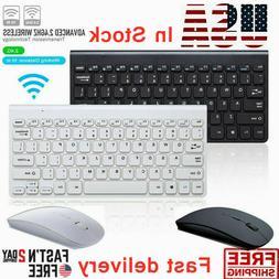 2.4GHz USB Wireless Keyboard Mouse Combo Mini ultra-thin Set