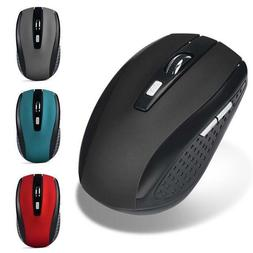 2.4GHz Wireless 2000DPI Cordless Optical Mouse Mice USB Rece