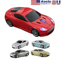 2.4Ghz Wireless Aston Martin Car Mouse Optical USB Game Lapt