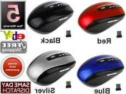 2.4GHz Wireless Cordless Optical Mouse Mice & USB Receive Fo
