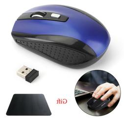 2.4GHz Wireless DPI Cordless Optical Mouse Mice USB Receiver