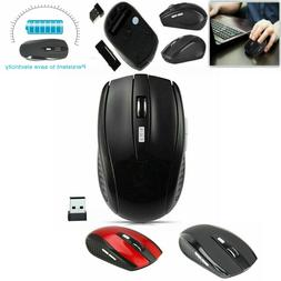 2.4GHz Wireless Gaming Mouse USB Receiver Optical for Laptop