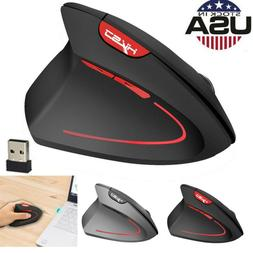 2.4GHz Wireless Mouse  Game Ergonomic Design Vertical Mouse
