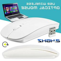 2.4GHz Wireless Mouse Optical Mouse Silent Button Ultra Thin