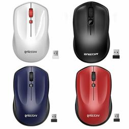 2.4GHz Wireless Optical Mouse Adjustable DPI Cordless Mice +