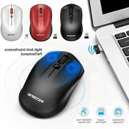 2.4GHz Wireless Optical Mouse Mice & USB Receiver For PC Lap