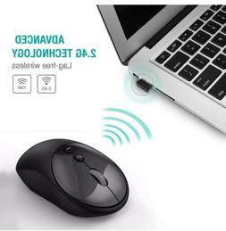 2.4Ghz Wireless Optical Mouse USB Receiver Adjustable DPI LE
