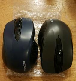 2-TeckNet Pro 2.4G Ergonomic Wireless Mobile Optical Mouse w