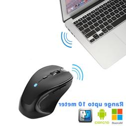 Bluetooth Wireless Mouse Computer Optical Mice For PC Mac An