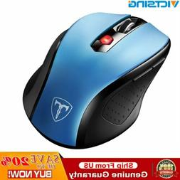 Victsing 2400 DPI Wireless Optical Gaming Mouse Mice 6 Butto