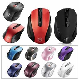 2400DPI Wireless Cordless Optical Mouse Mice + USB Receiver
