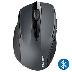 TeckNet 2600DPI Bluetooth Wireless Mouse, 12 Months Battery