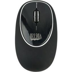 Adesso iMouse E60B - 2.4GHz 3 BTN Gel Mouse, Black
