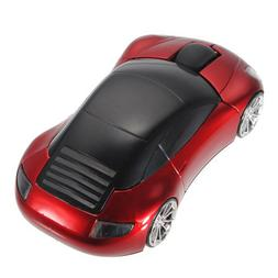 3D Car Shape Wireless Mouse Optical Cordless Mice for PC Lap