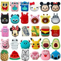 3D Cute Cartoon Animals Silicone Wireless Headphone Case For