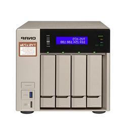 Qnap 4-bay NAS/iSCSI IP-SAN, AMD R series Quad-core 2.1GHz,