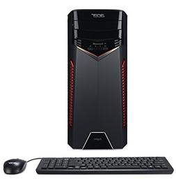 Acer Aspire Gaming Desktop, AMD Ryzen 5 1400 Processor, NVID