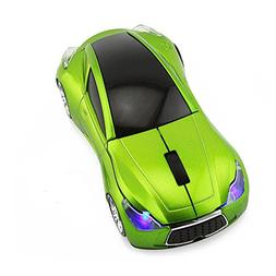 CHUYI Wireless Sport Car Shaped Mouse 1600DPI 3 Button Optic