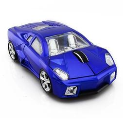 Car Shape Optical Wireless Mouse Usb Mice PC Laptop Accessor