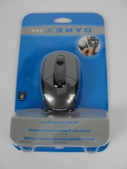 Dynex - Wireless Laptop Mouse with USB Adapter