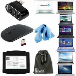 EEEKit Accessory Kit for Laptop Wireless 2.4G Mouse/Pad+3 Po
