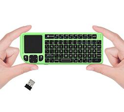 FAVI FE01 2.4GHz Wireless USB Mini Keyboard with Mouse Touch