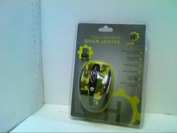 Gearhead Wireless Optical Mouse Leopard New MPT4100LPD 87826