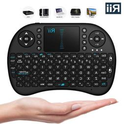 HausBell® Mini H7 2.4GHz Wireless Entertainment Keyboard wi