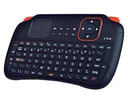 Hausbell Mini H7 2.4GHz Wireless Entertainment Keyboard with