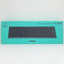 Logitech K830 Illuminated Living-Room Keyboard with Built-in