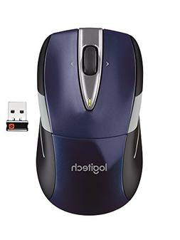 Logitech Wireless Mouse M525 - Navy/Grey